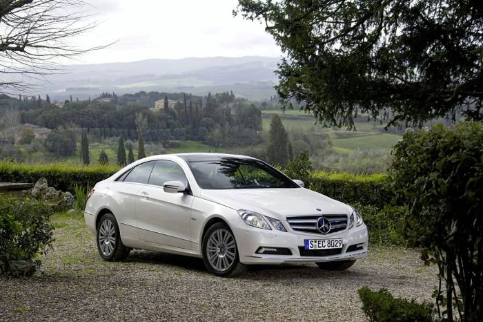 2010 Mercedes E Class Coupe Photos