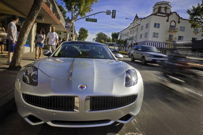 2010 Fisker Karma Production version Photos