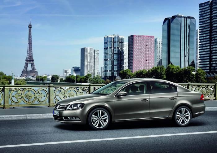 2011 Volkswagen Passat facelift Photos