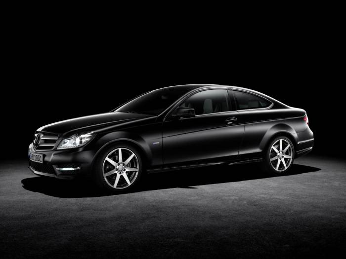 2012 Mercedes C-Class Coupe Photos