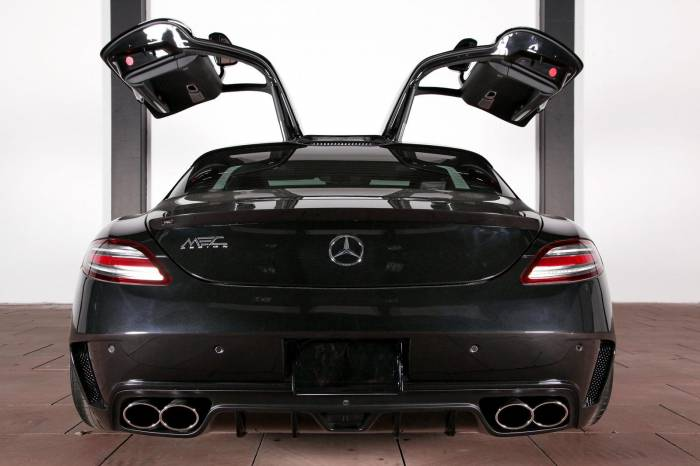 2012 Mercedes SLS AMG by MEC Design Photos