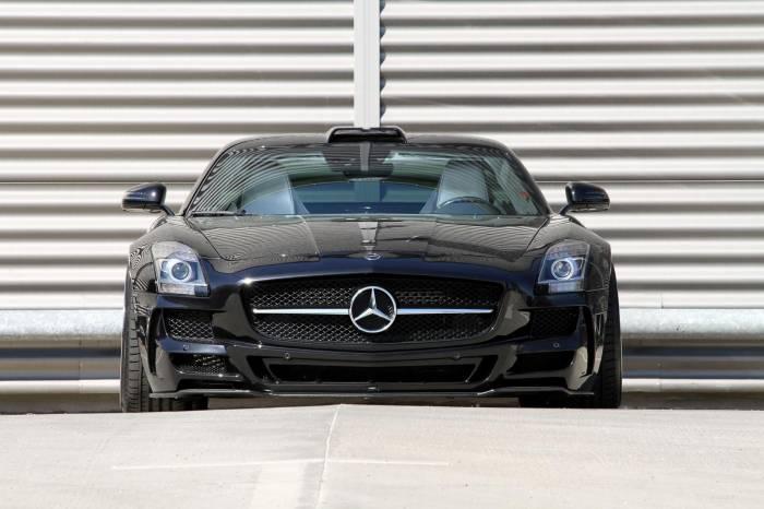 2012 Mercedes SLS AMG by MEC Design Photos