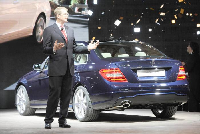 2012 Mercedes-Benz C-Class facelift Photos