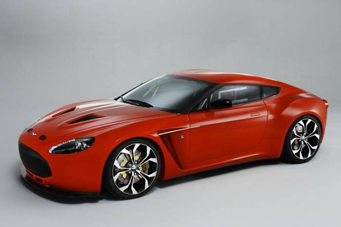 2012 Aston Martin Zagato Concept Photos