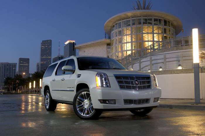 2011 Cadillac Escalade Platinum Photos