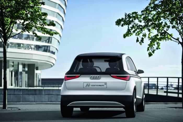 2012 Audi A2 EV Concept Photos