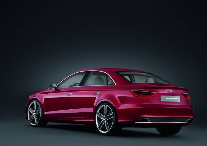 2012 Audi A3 Sedan Concept Photos