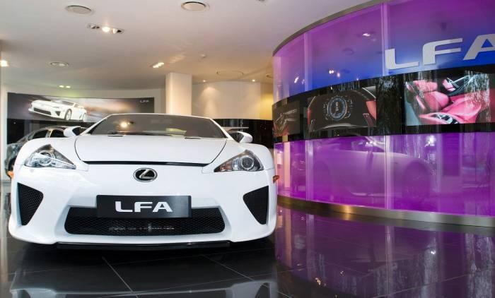 2010 Lexus LFA Photos