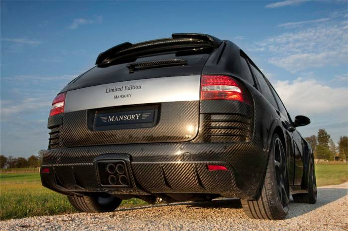 2010 Mansory Chopster Porsche Cayenne Turbo S Photos