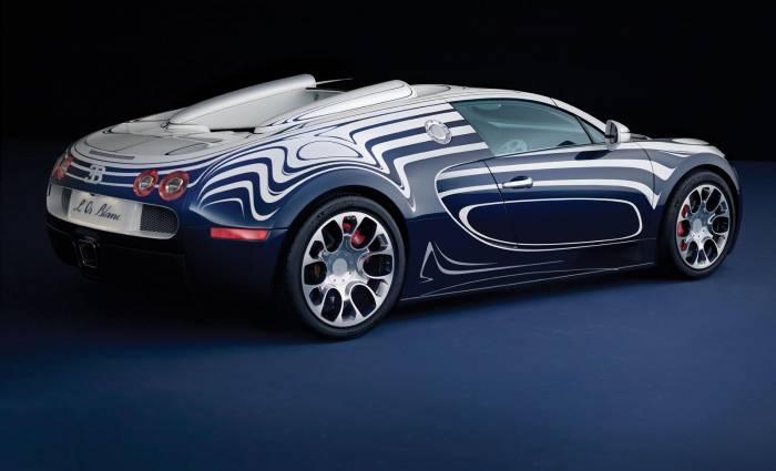 2012 Bugatti Veyron Grand Sport L'Or Blanc Photos