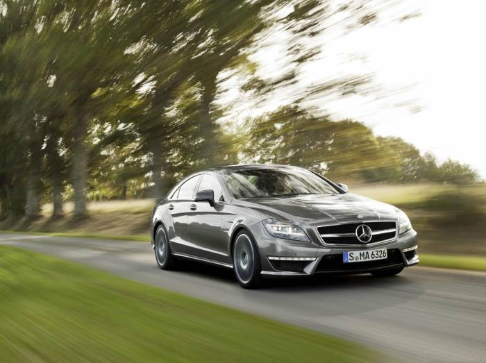 2012 Mercedes-Benz CLS 63 AMG Photos