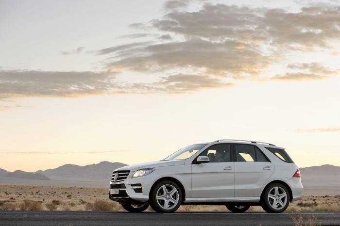 2012 Mercedes-Benz M-Class Photos