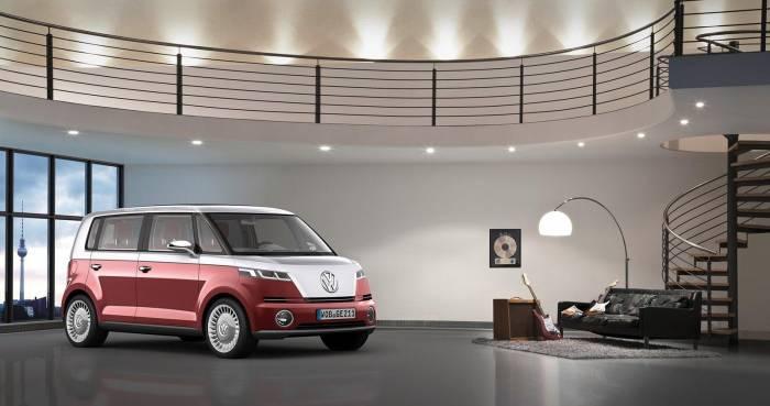 2012 Volkswagen Bulli Concept Photos