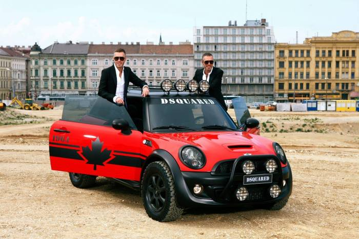 2011 MINI Cooper Red Mudder by DSQUARED Photos
