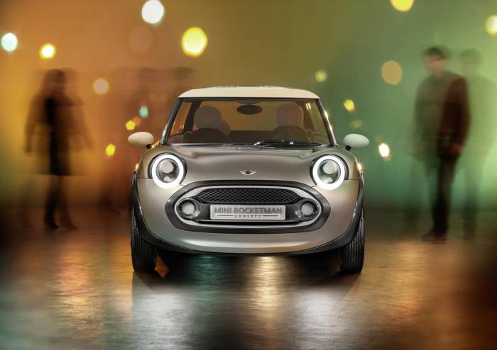 2012 MINI Rocketman Concept Photos