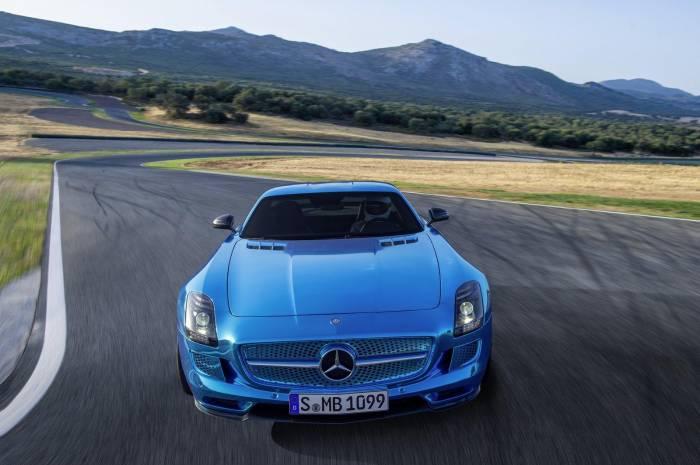 2012 Mercedes-Benz SLS Electric Drive Photos