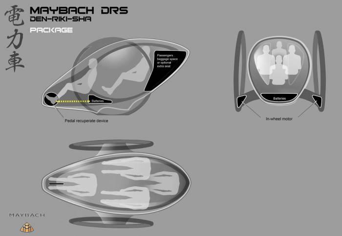 2011 Maybach DRS Concept Photos