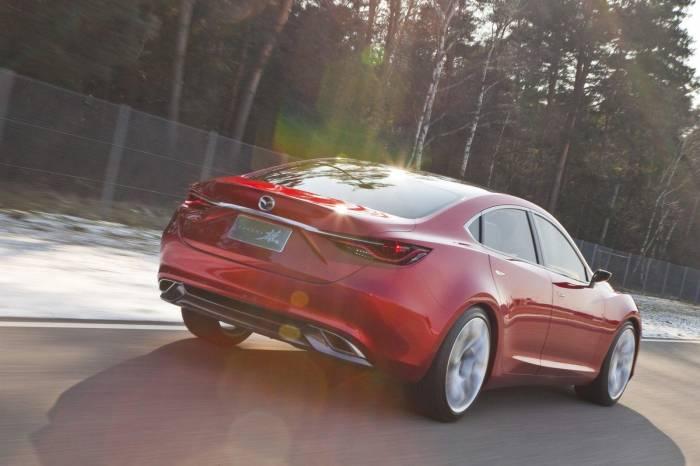 2012 Mazda Takeri Concept Photos